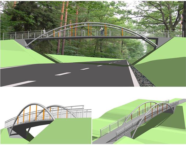 Stabbogenbrücke